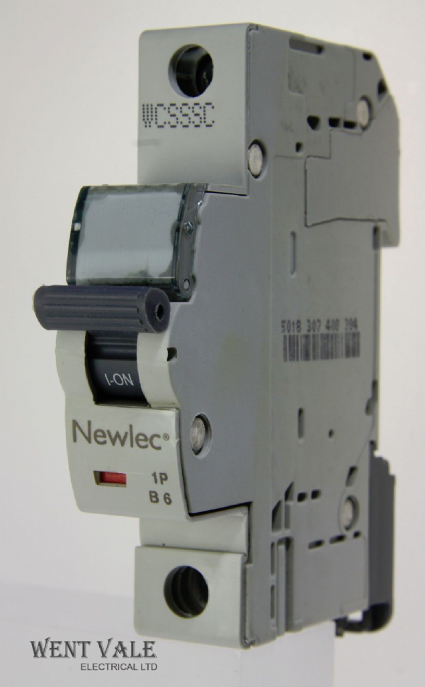 Newlec - NLMB106BA - 6a Type B Single Pole MCB Latest Model NEW